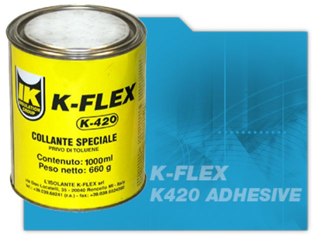 K Flex Adhesive for Pipe Insulation