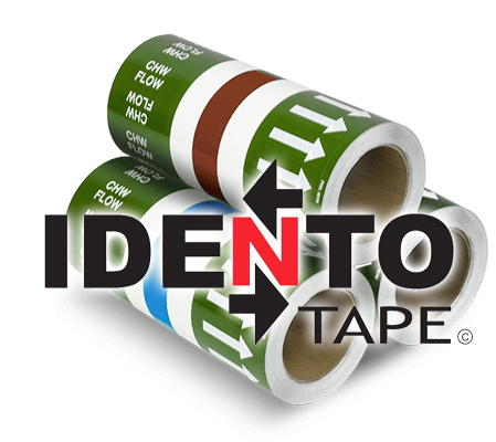 Identotape, Pipe ID Tape, Wrap, identification tape