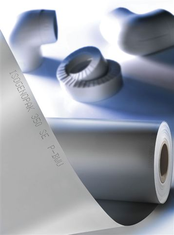 Isogenopak, Rigid PVC Jacketing, insulation, grey