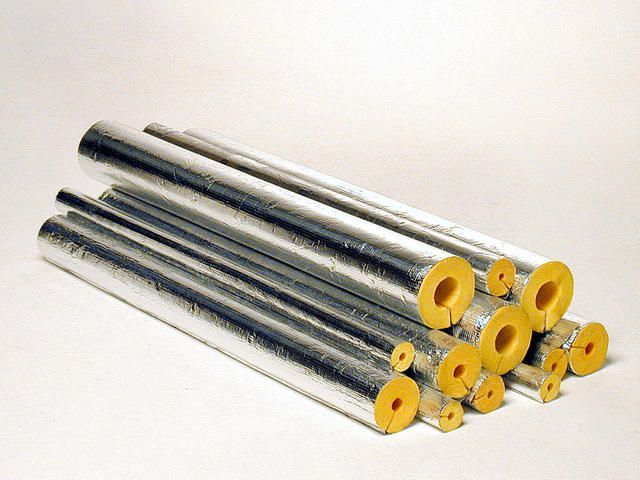 Isover Glass Wool Pipe Insulation
